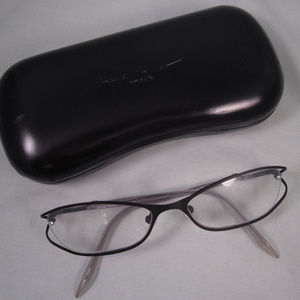 NICOLE MILLER Rx Eyeglasses Metal Frames CHINTZ